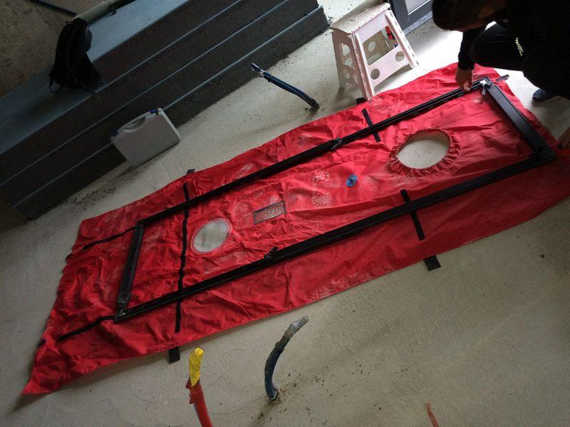 archicube flament berthoin architectes actualit s teste d 39 tancheit l 39 air. Black Bedroom Furniture Sets. Home Design Ideas