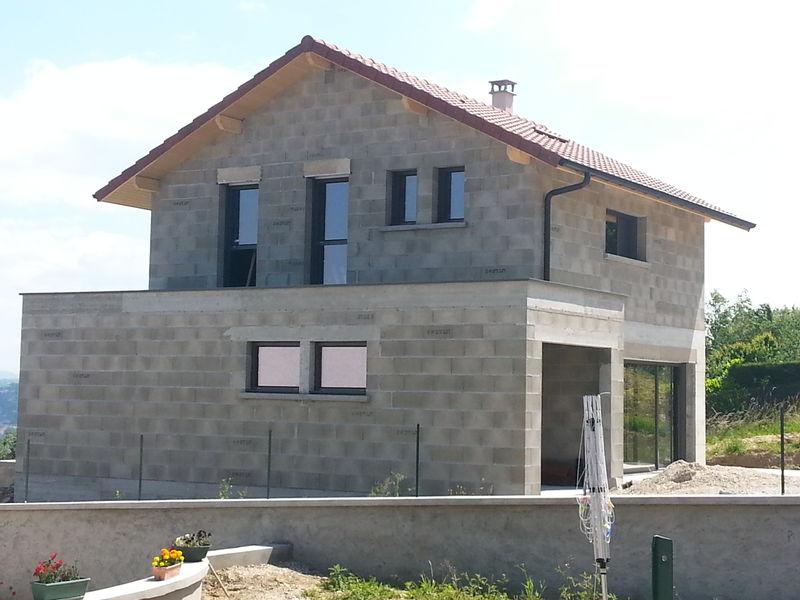 Archicube flament berthoin architectes r alisations for Maison bourgoin jallieu