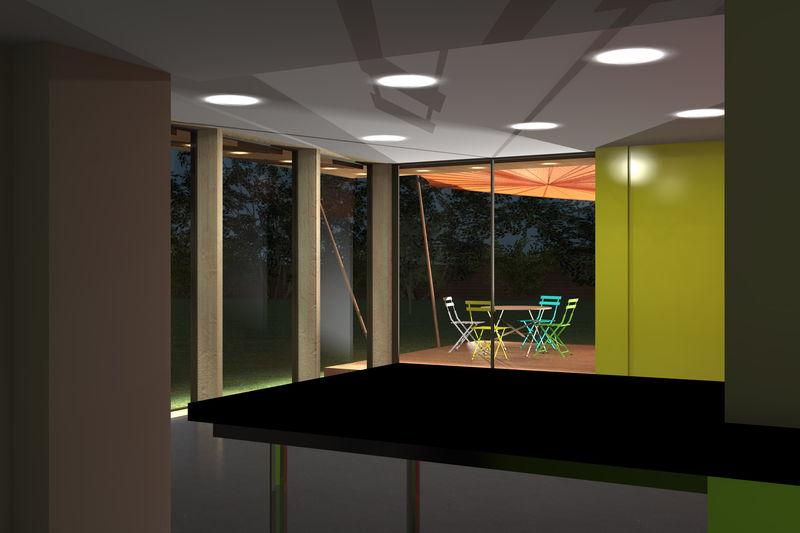 archicube flament berthoin architectes r alisations extension bois verre tioture terrasse. Black Bedroom Furniture Sets. Home Design Ideas
