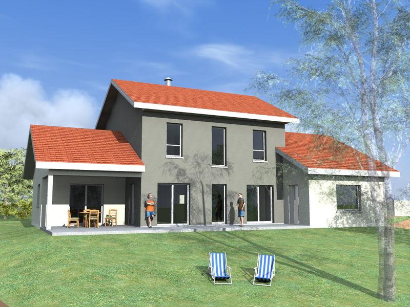 Archicube flament berthoin architectes r alisations for Constructeur maison bourgoin