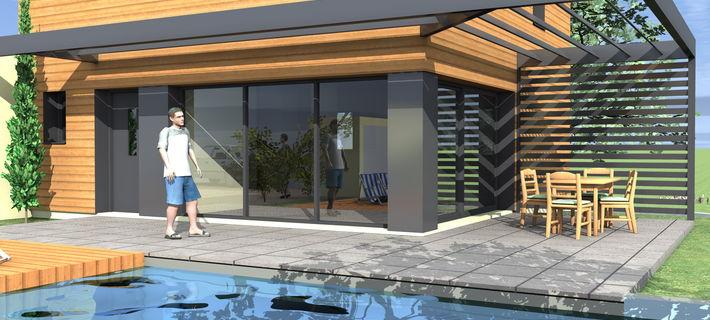 Archicube flament berthoin architectes accueil for Constructeur maison bourgoin